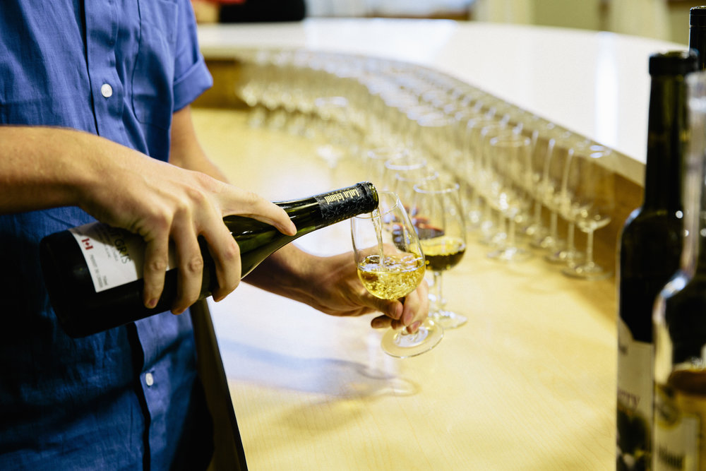 Tourism Richmond_Lulu Island Winery_wine pouring.jpg