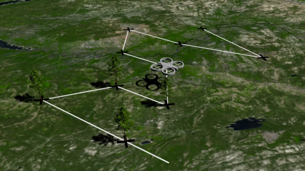 CLEAN AIR AND REFORESTATION: DRONE SEED - Drone Seed is deploying drones globally for rapid reforestation, through invasive species remediation and seed planting.