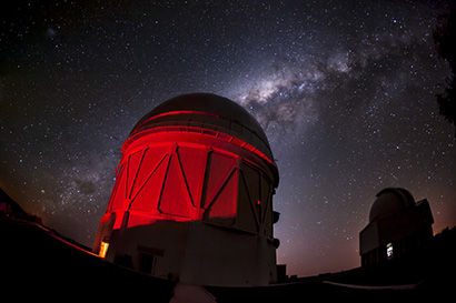UCSC: Probing the mysteries of dark matter, dark energy