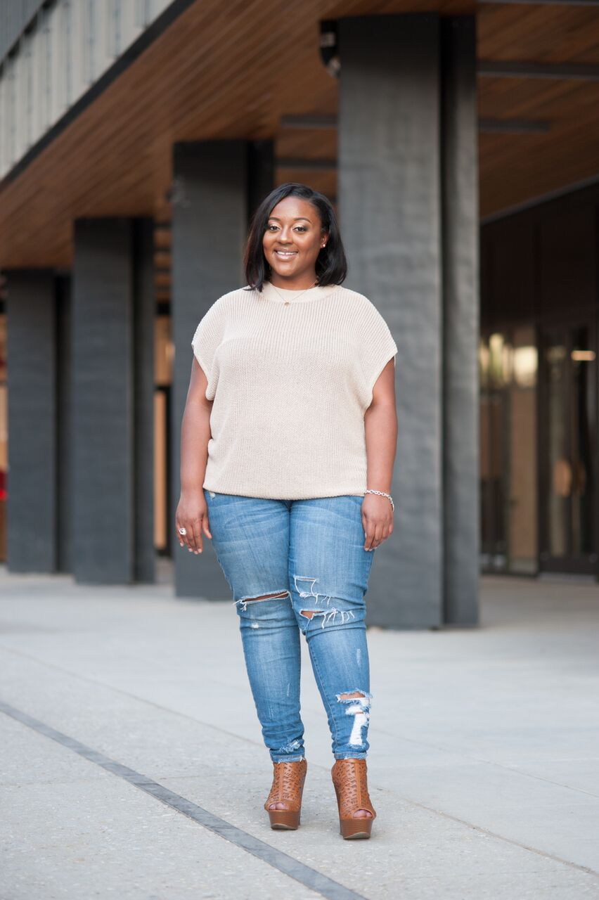 About Tamera Sutton - I was pregnant at the age of 19, working at a daycare center, in college, no car, and not a clue on how I was going to make it or raise a child. .