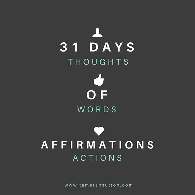 I am starting 31 Days of Affirmations next Tuesday at 8pm CST live on Periscope Click the link in my bio to download your Affirmations workbook today