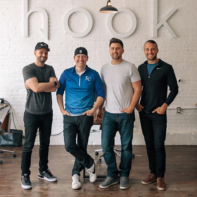 We recently hired two new employees, so today is our last day as a team of four. We're incredibly excited about the future, but felt compelled to document this moment in history. • • • #hookcreative #digitalagency #agencylife #downtownsgf#midwestisbest #springfieldmo #corefour