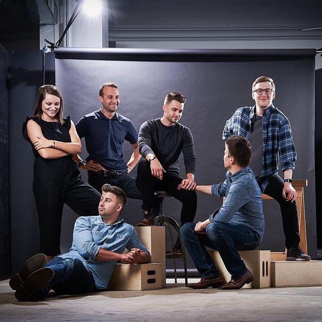 Squad. #hookcreative #digitalagency #agencylife #creatives #designers #downtownsgf #midwestisbest #squad