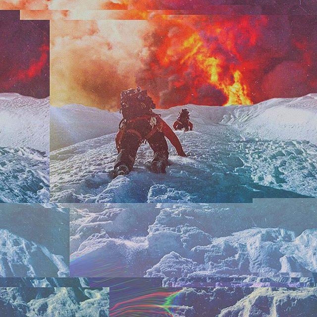fire on the mountain @travelindan #glitch