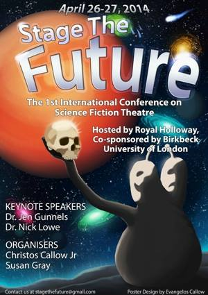 Stage the Future I - Conference poster by Evangelos Callow (first posted in  DeviantArt  )