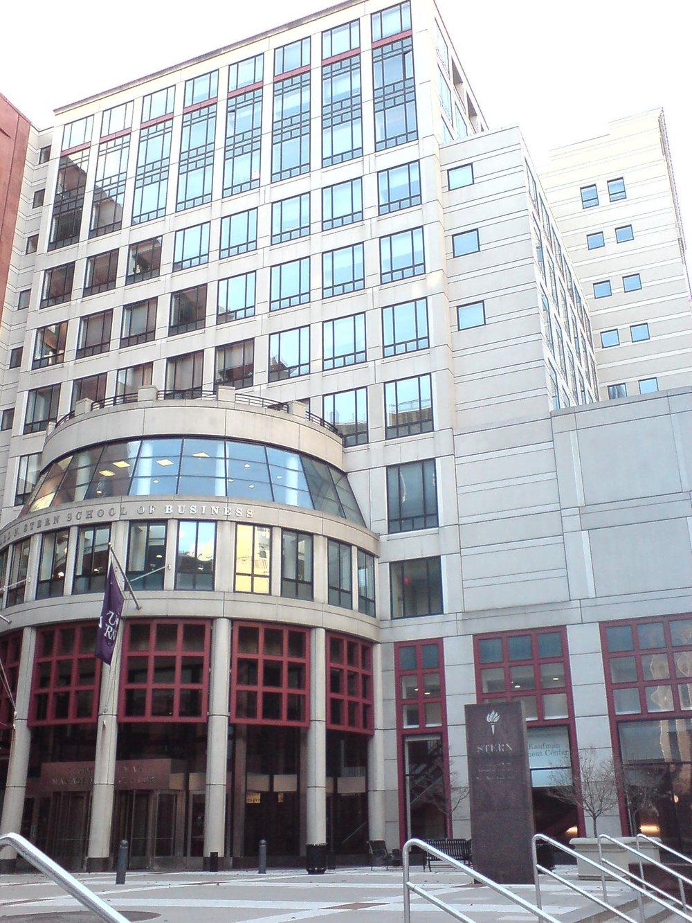 The Stern School of Business- New York University, New York