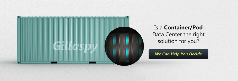 Is a Container/Pod data center the right solution for you?  We Can Help You Decide