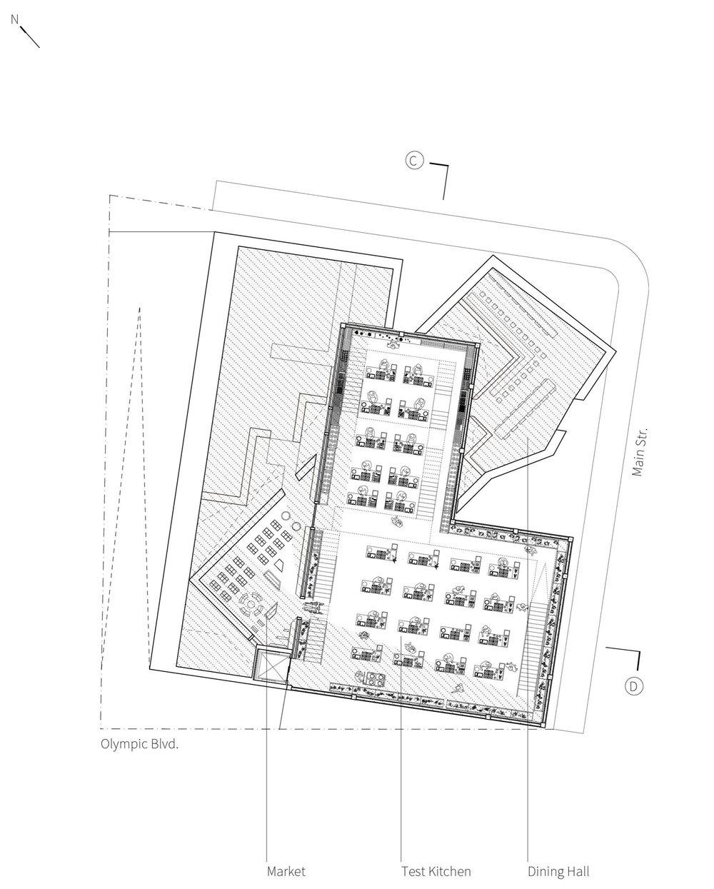 Test Kitchen Floor Plan