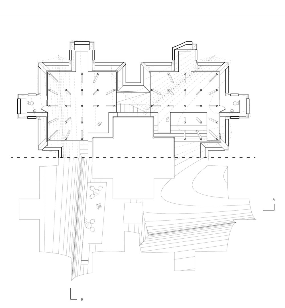 Archive Floor Plan/Roof Plan