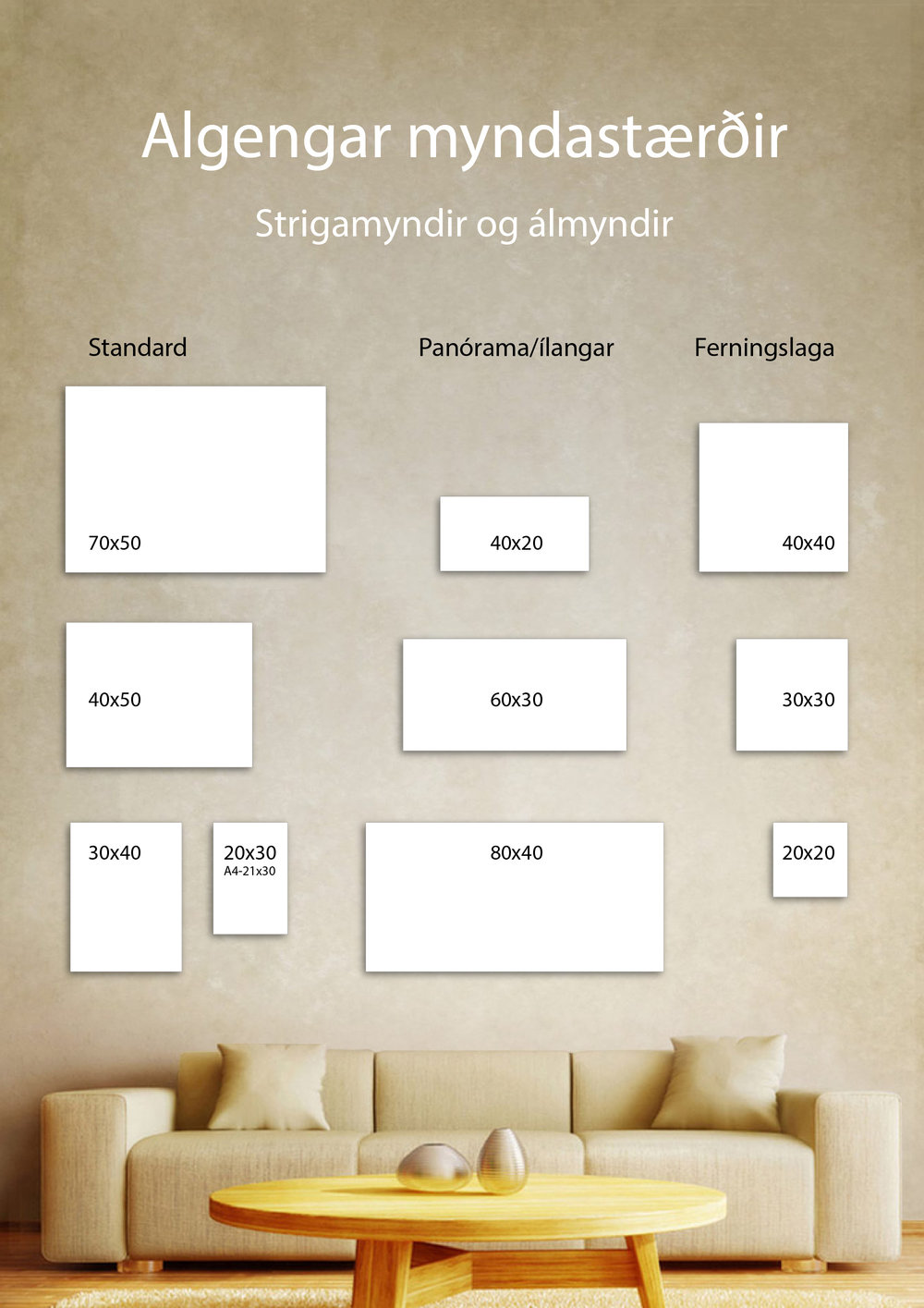 Stærðir