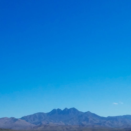 Great view of Four Peaks.
