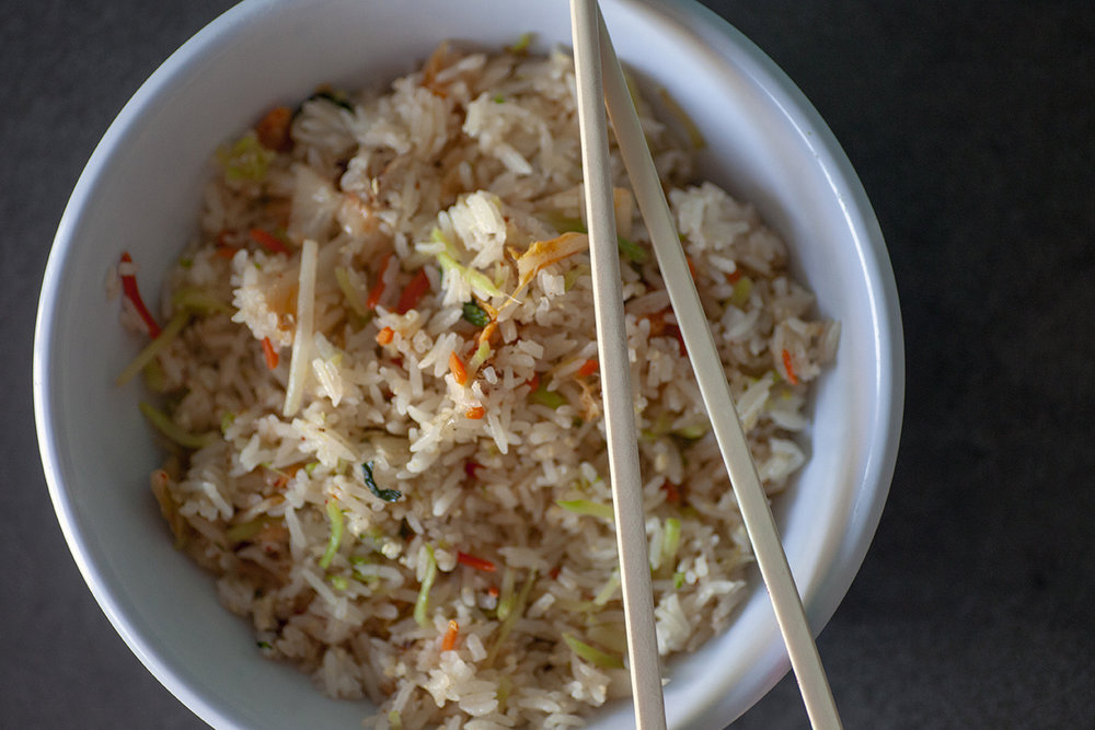 Kimchi Fried Rice recipe by Emily