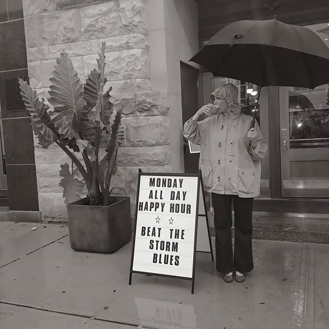 It's back baby! ALL DAY HAPPY HOUR MONDAYS AT MODINE. Dollar Oysters, $8 Signature Craft Cocktails, HALF PRICE FRIED CHICKEN, $5 Can and Dram...yup ALL DAY #rainorshine #modineasbury #drinkingintherain