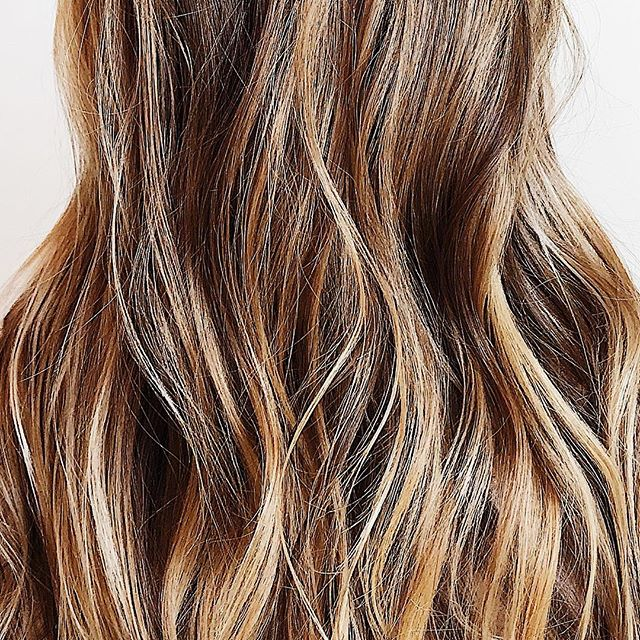 Warm summery balayage ✨