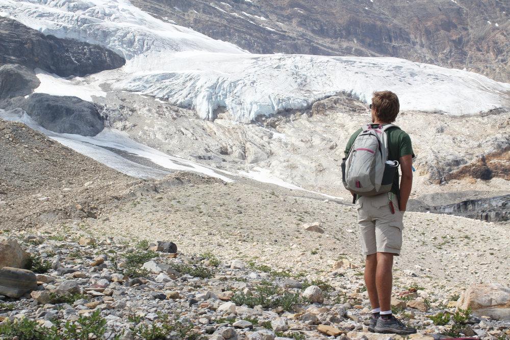 WS Banff student at glacier.jpg