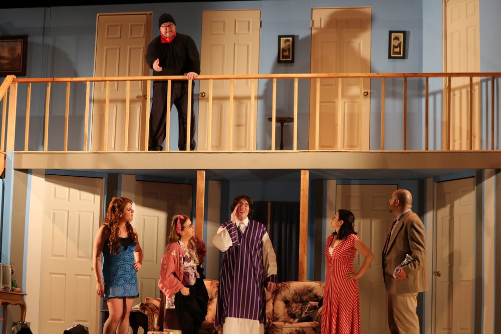 """Noises Off"" - April 2016"