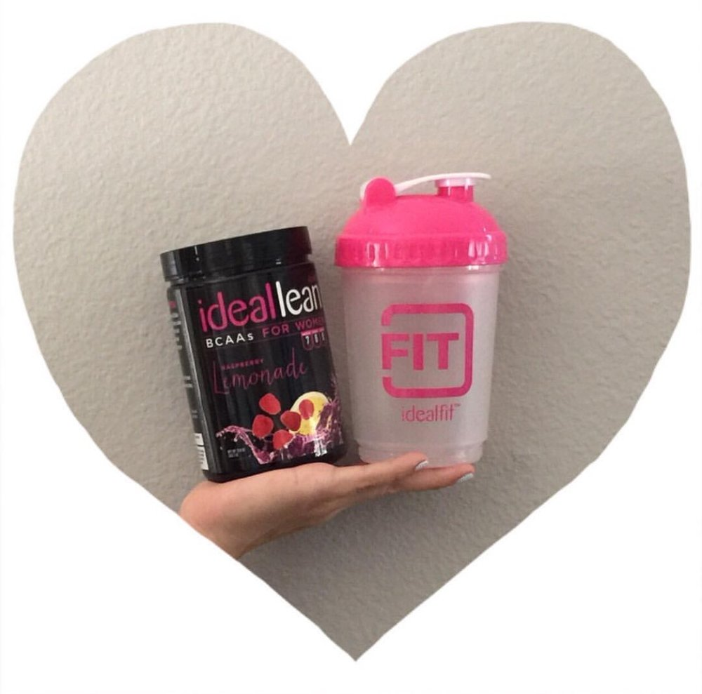 "- OUR FAVORITE BCCA's🙋🏼 IdealFit Raspberry Lemonade $34.99🙋🏻IdealFit Grape $34.99💓OUR FAVORITE SHAKER BOTTLEIdealFIt Multi Compartment Bottle $9.99We love the shape, size & it mixes great - not a protein loogie in sight!💵 10% OFF DISCOUNT CODES:@muncher_cruncher - MCFIT@biceps.after.babies - AMBERB10🤷🏼‍♀️🤷🏻‍♀️SO WHAT ARE BCAA's?👶🏻 SHORT ANSWER: BCAAs can help you get more out of your workouts. Like our pal @muncher_cruncher mentioned in our last post--drink them before, during, or after your workouts.👵🏻 LONGER ANSWER: Branched Chain Amino Acids (specifically the essential amino acids leucine, isoleucine and valine) comprise around 35% of your body's muscle protein. You're body doesn't make these Aminos on its own--you MUST get them from food or supplements. They can help prevent muscle breakdown, stimulate protein synthesis, increase muscle repair, reduce fatigue and increase recovery!👱🏼‍♀️💪IDEALFit tells us:""If you're serious about improving muscle recovery, building lean muscle, and burning fat, the last thing you want is to reach for a men's supplement packed with a bunch of calories and sugar to refuel after training. IdealLean BCAAs is specifically designed to maximize women's weight loss and jumpstart lean muscle growth! Each serving of IdealLean BCAAs offers 5 g of BCAAs to reduce muscle soreness and promote muscle building -all without any sugar or calories!"""