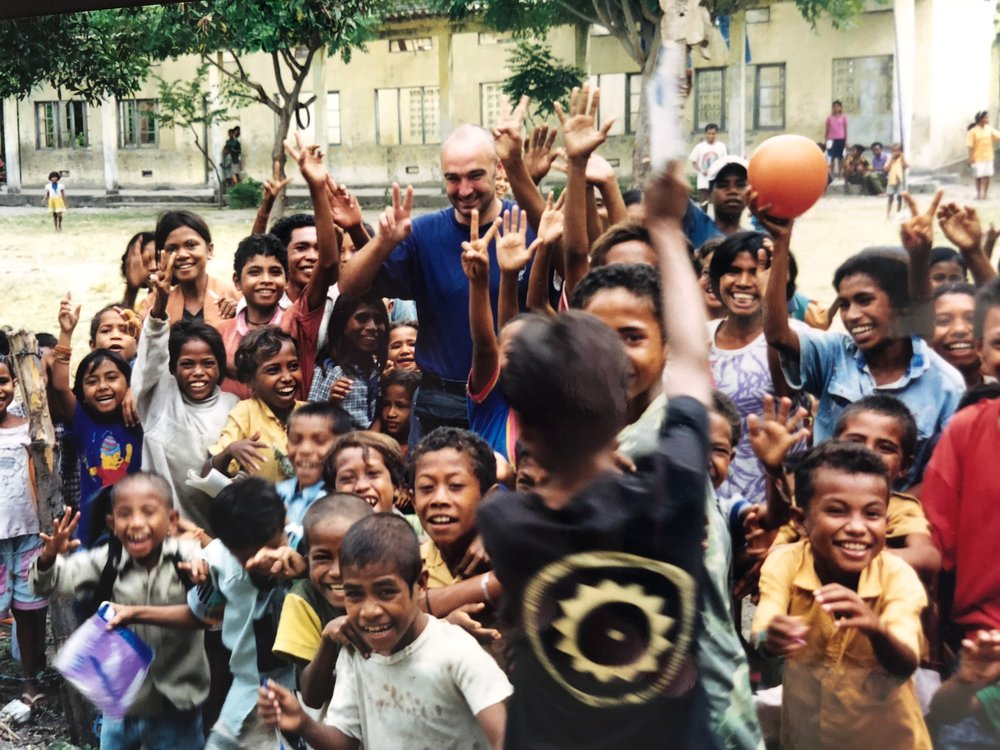 It's always amazed me that kids with so little, suffering so much hardship always manage to find a smile - East Timor