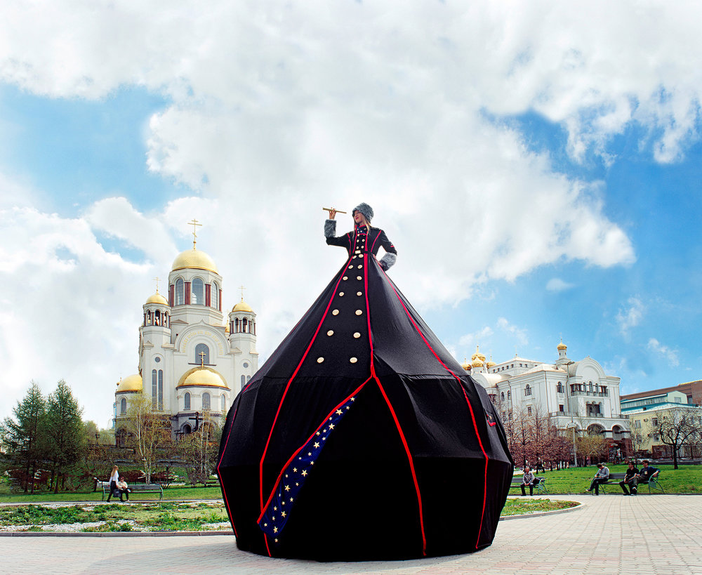 MS.YEKATERINBURG: CAMERA OBSCURA DRESS TENT