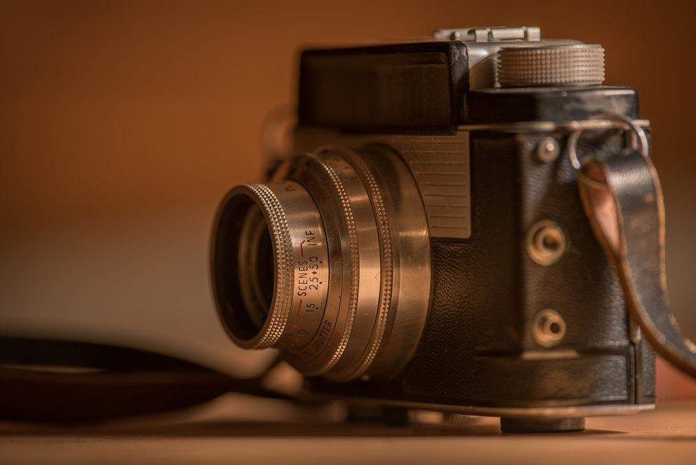 A Kodak Signet 50 that belonged to my uncle.