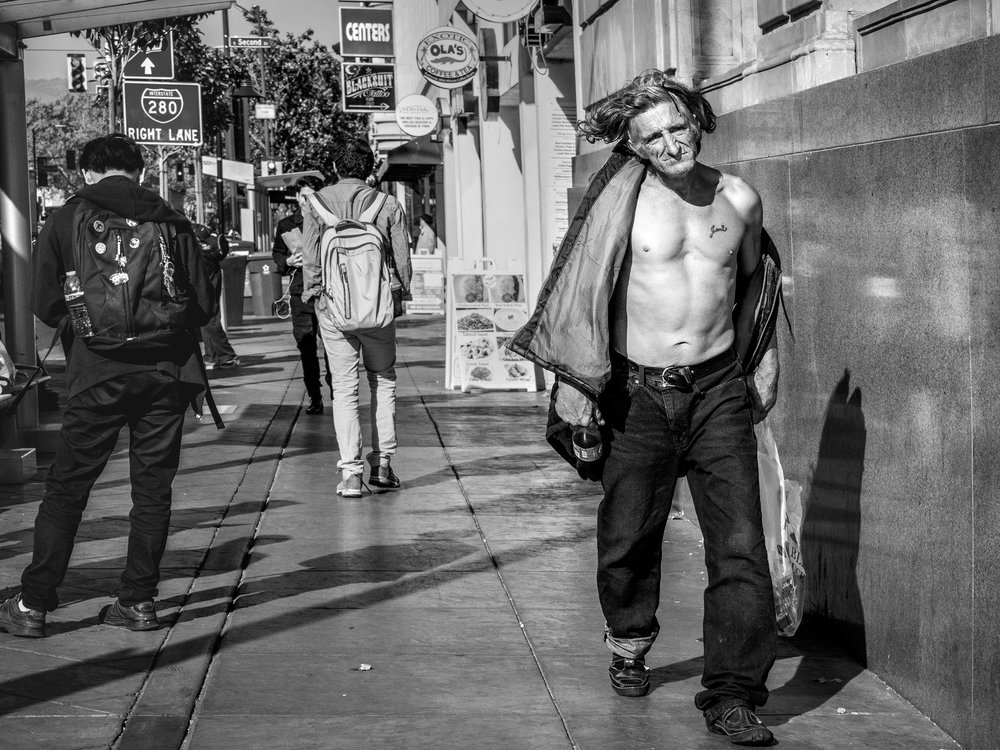 Jami. East Santa Clara Street. San Jose, California. A worthwhile look at the human experience? Or just voyeuristic and exploitative?
