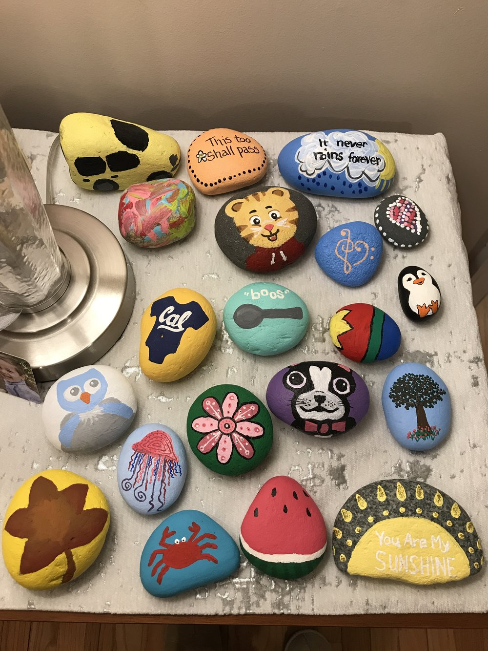 Here's our full rock collection, as of February 19, 2018.