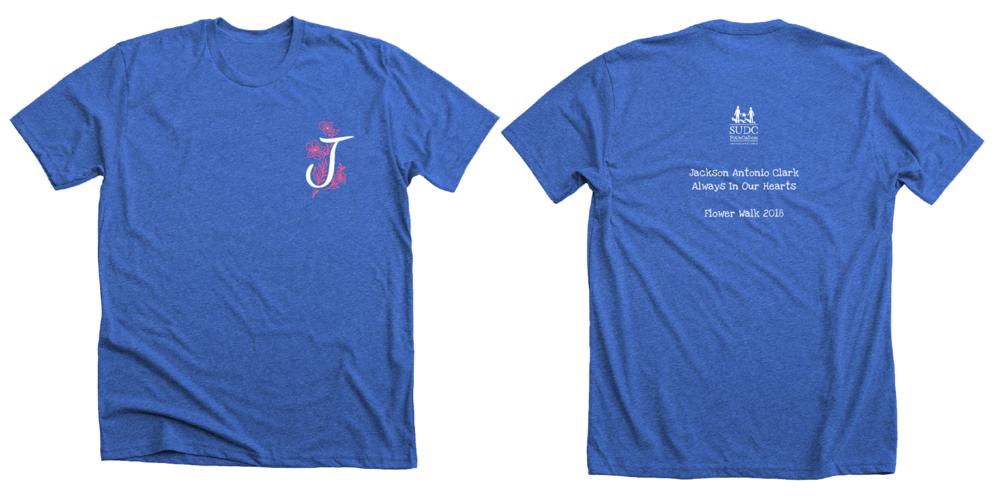 Flower Walk shirt design