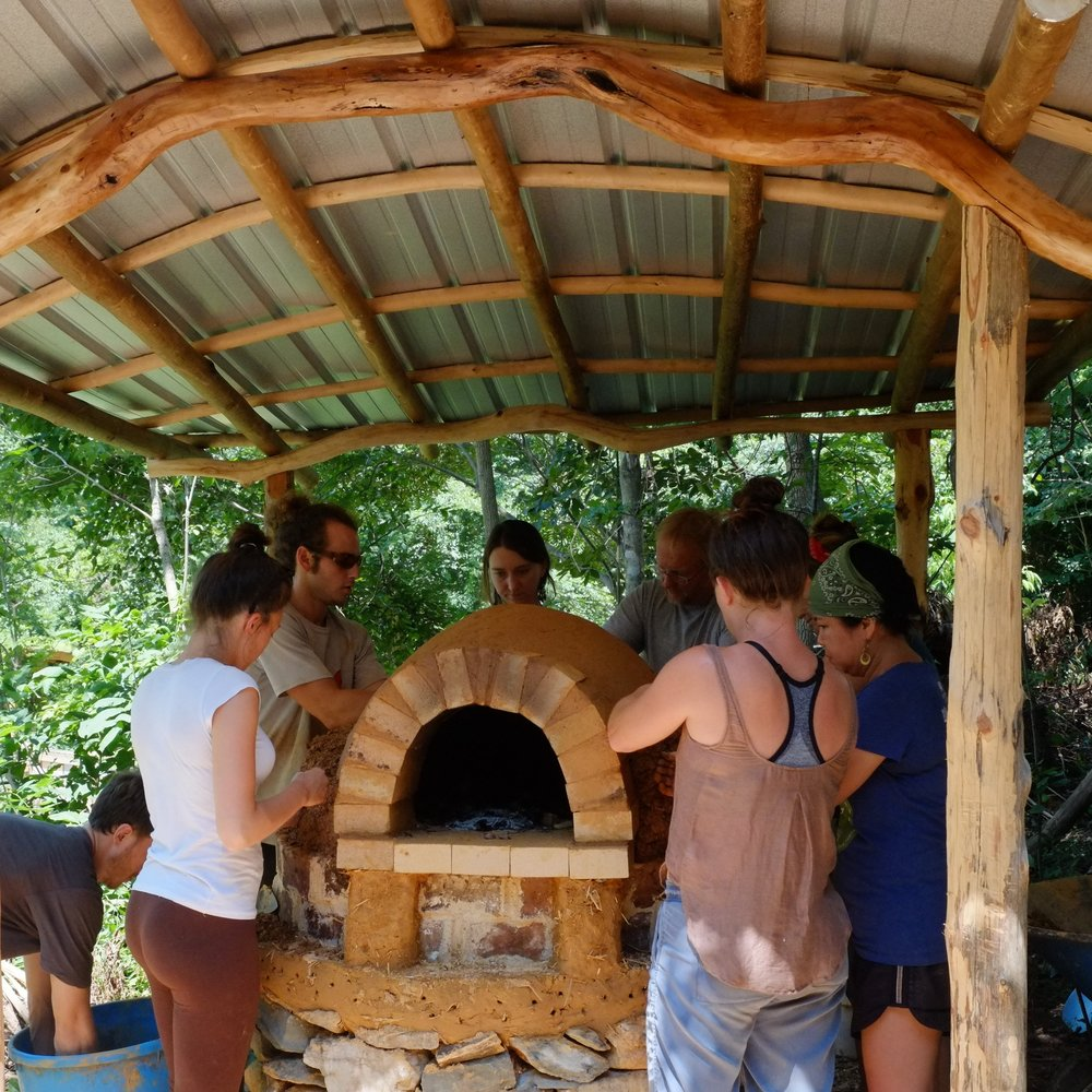 2017 cob oven workshop