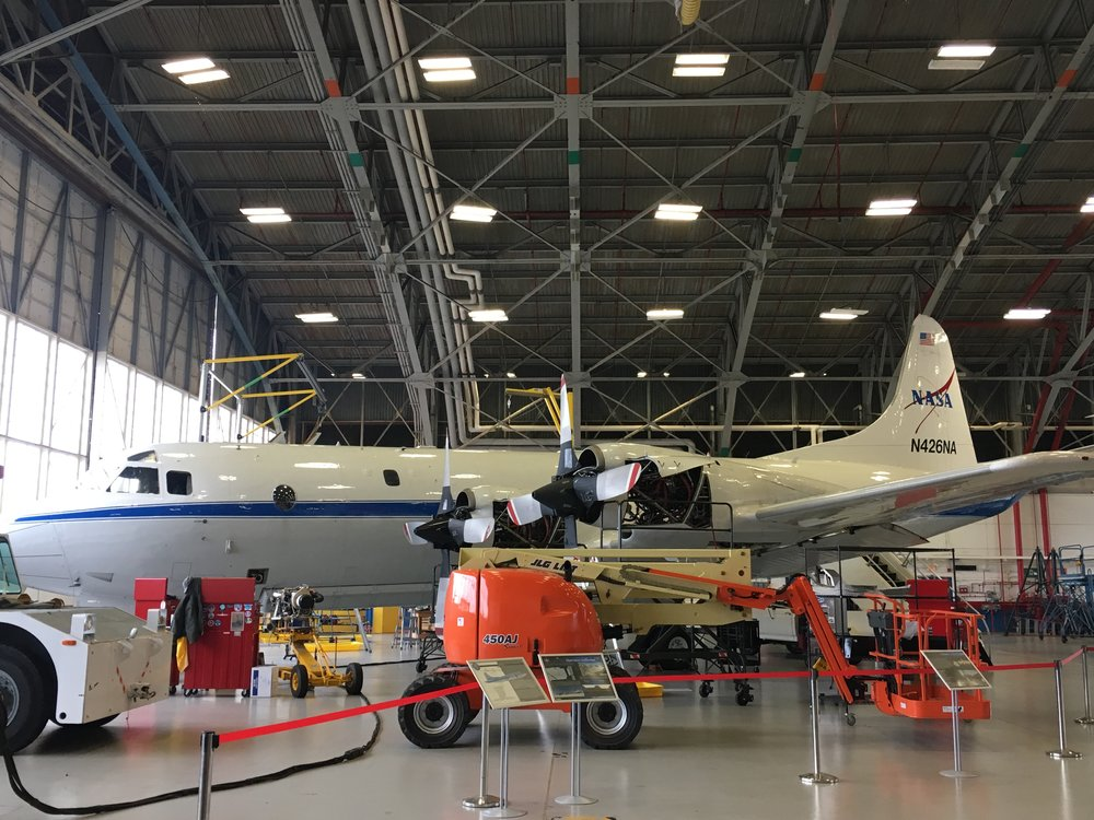 NASA P-3 Orion Flying Laboratory.