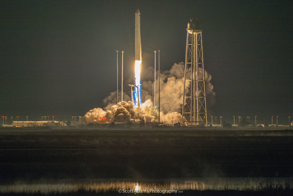 Liftoff! (Photo: Scott Adams)