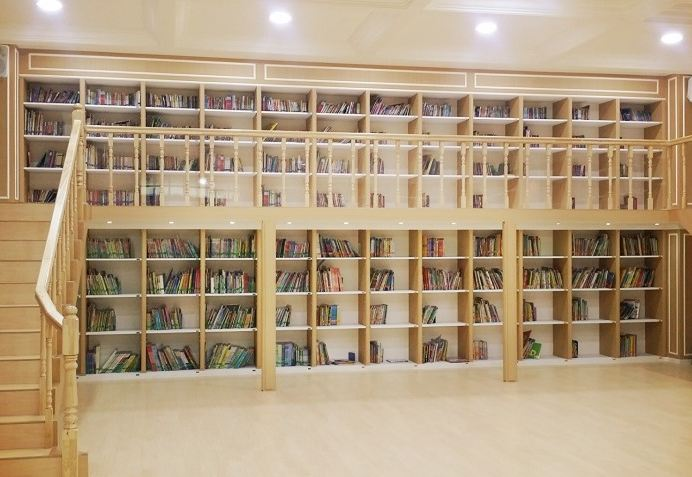 library in the school