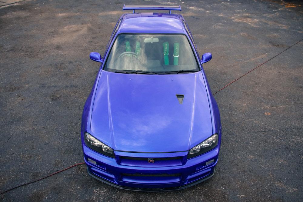 """2002 R34 GTR V-Spec II """"NüR"""""""