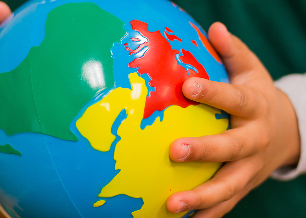 Geography - This includes comprehensive studies of the US and the World Geography to make the children more aware of the world they live in