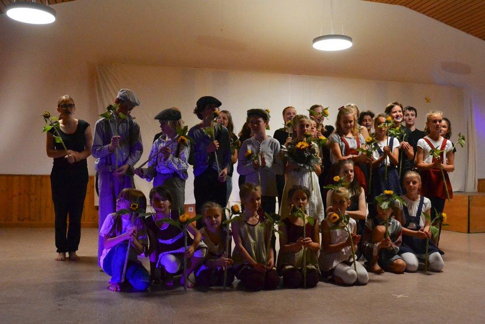 Spolupráce s TanzTheater Laborinth v Německu