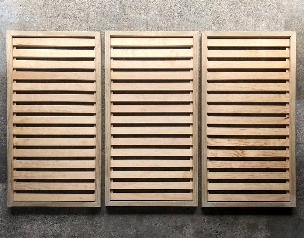 Custom Trellis Limited Custom NZ Wooden Timber Trellis in Diagonal