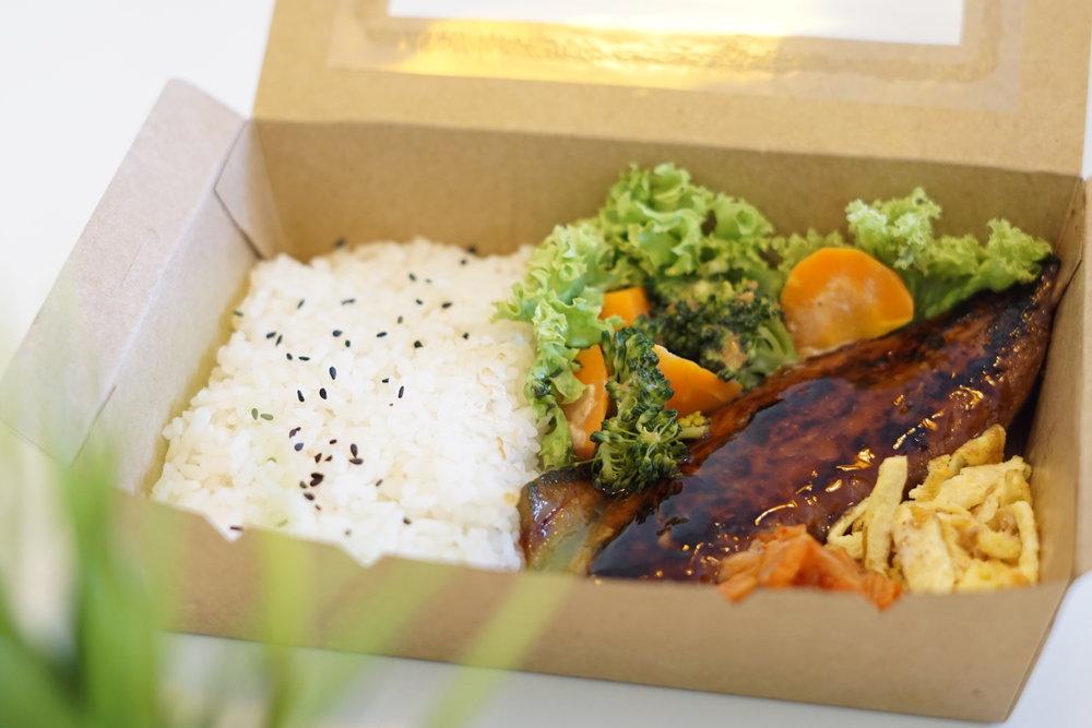 照燒鯖魚便當| Teriyaki Saba Bento | 照り焼き鯖弁と