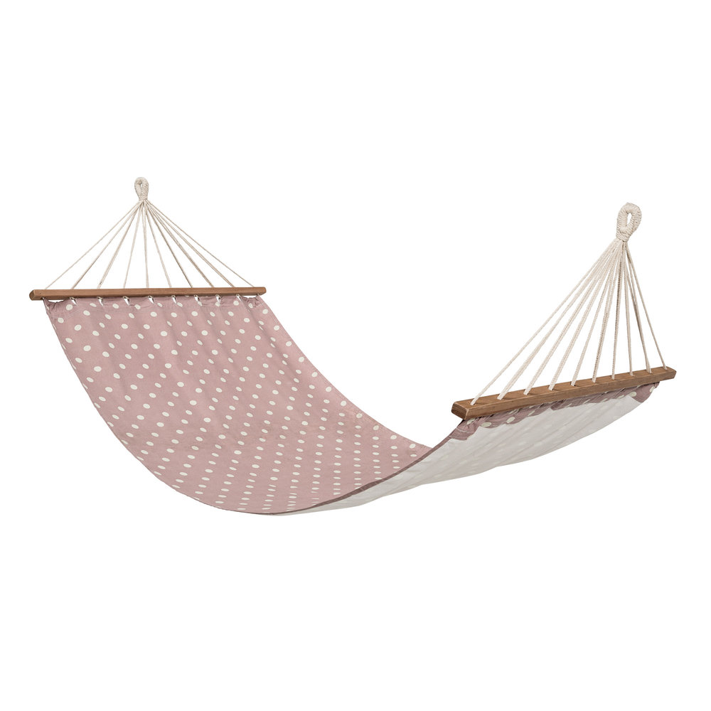 Pink spotty hammock