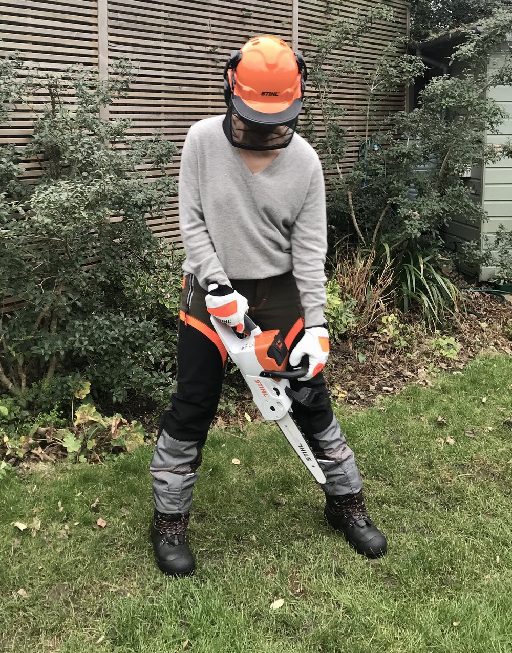 Stihl mini-chainsaw