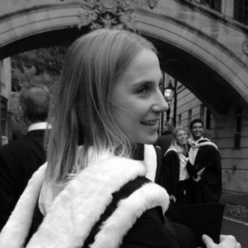 Rosalind - Experimental Psychology, Oxford (Placed 1st in year, undertaking Masters)