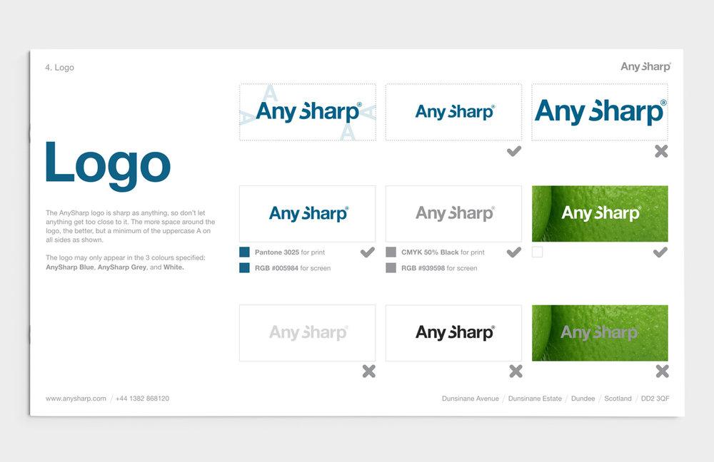 AnySharp Brand Book - Logo