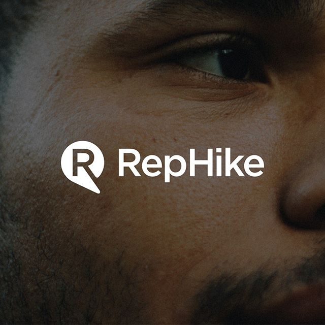 Logo and branding designed for Rephike by by BTL Brands; RepHike is a micro-influencer discovery and analytics platform that automatically finds the best micro-influencers for your brand.