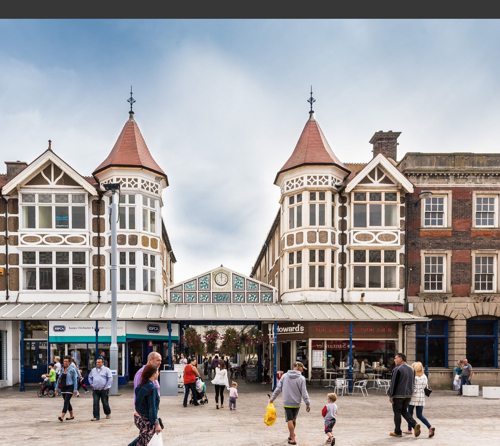 """""""  Bognor Regis richly deserves the major investment which the town is attracting . """"   Councillor Mrs Gillian Brown, Leader of Arun District Council"""