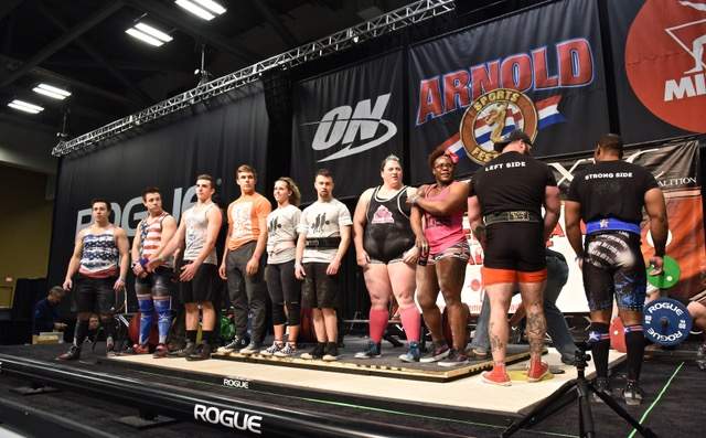 2018 ARNOLD SPORTS FESTIVAL - DOUBLE DEADLIFT COMPETITORS