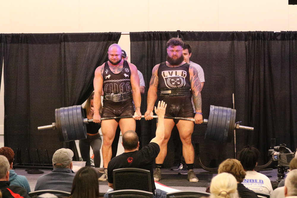 - Jake Marsee and Tyler Obringer pull 1400 lbs.