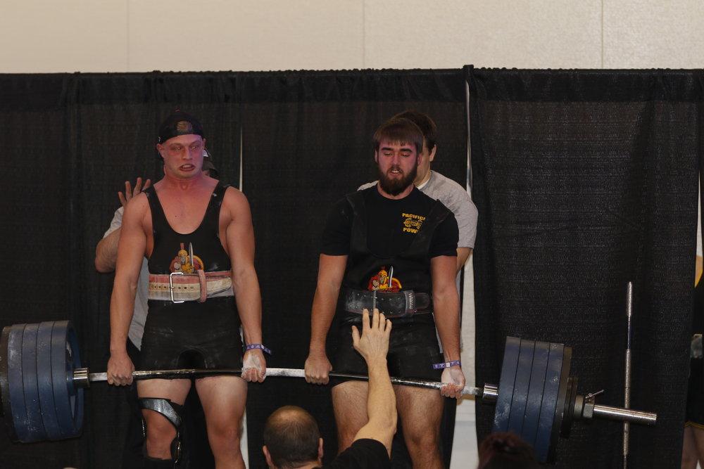 - Ryan Wall and Jack Herbst pull 1000 lbs. Teen Boy Winner over 165lb
