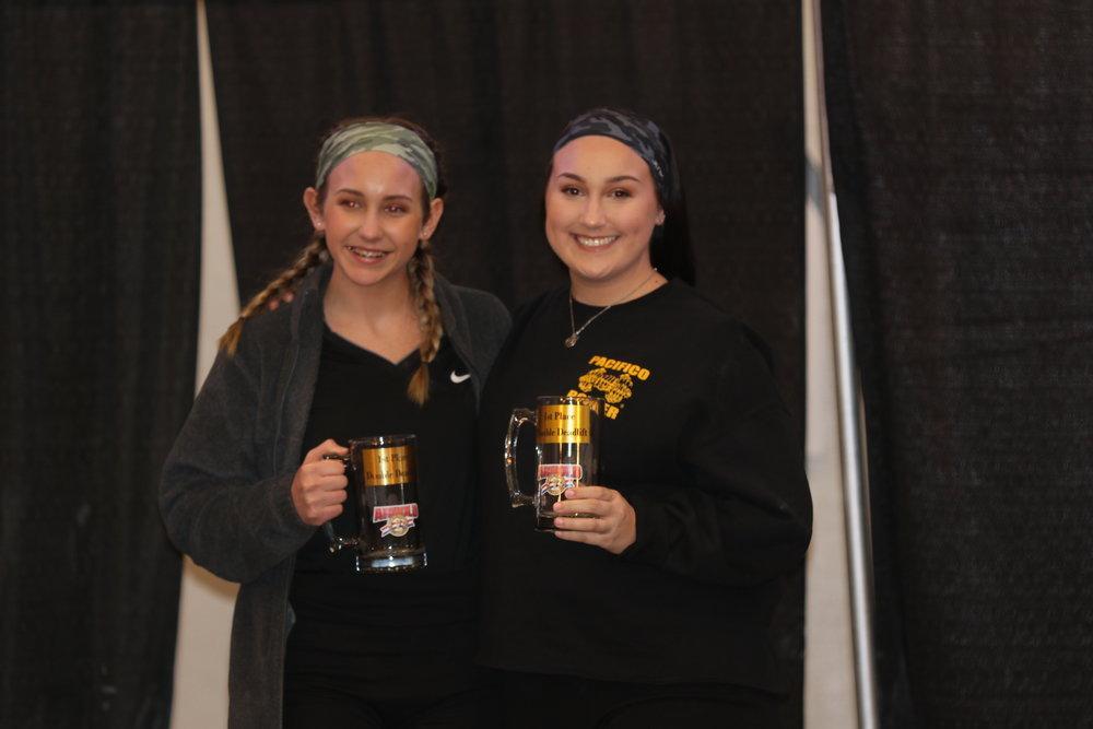 - Mia and Ashley Devore - Teen Girl Winners