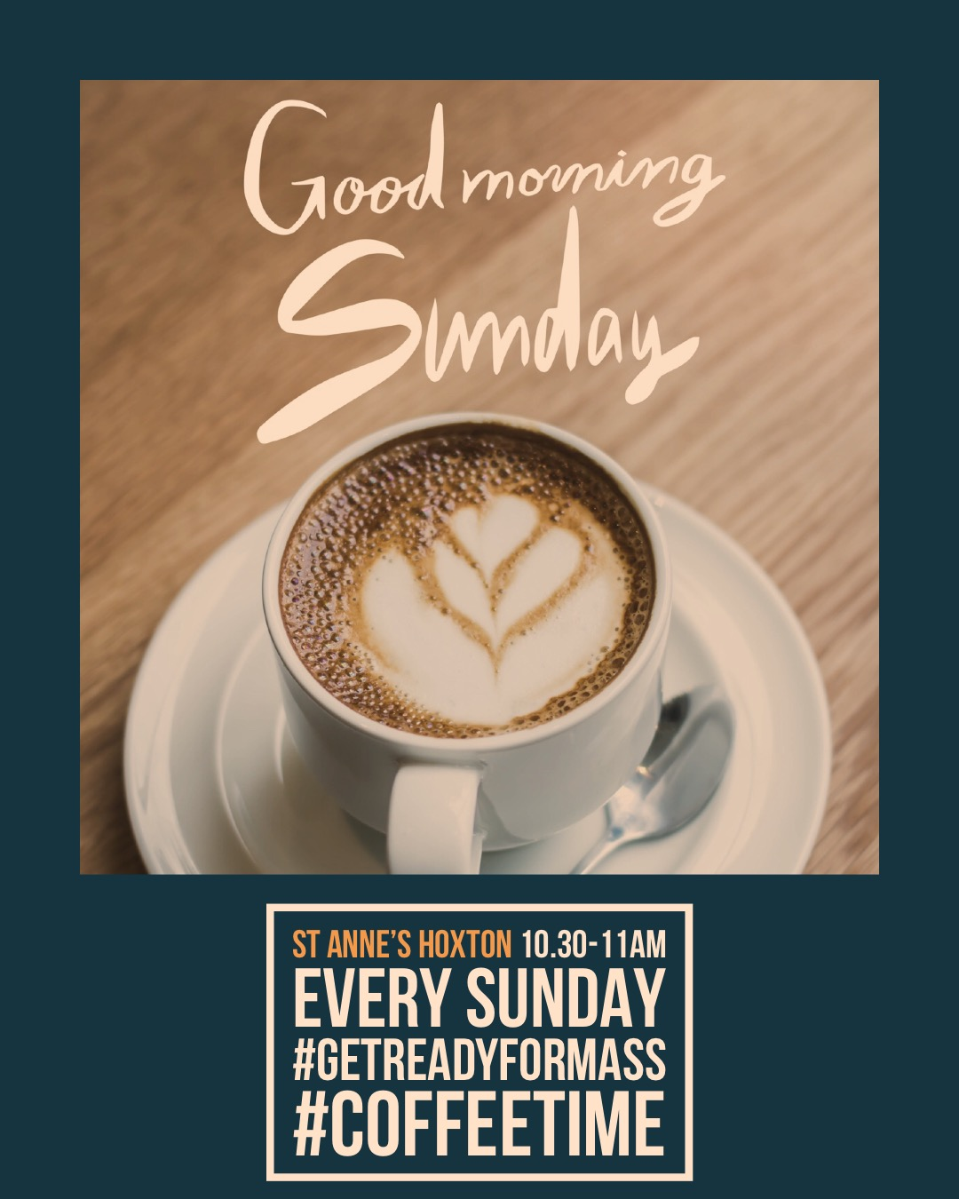 Images of good morning sunday with coffee