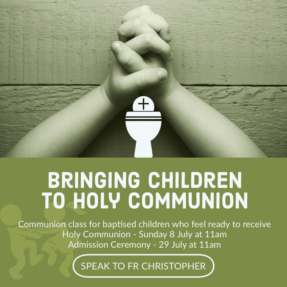 Bringing Children to Communion
