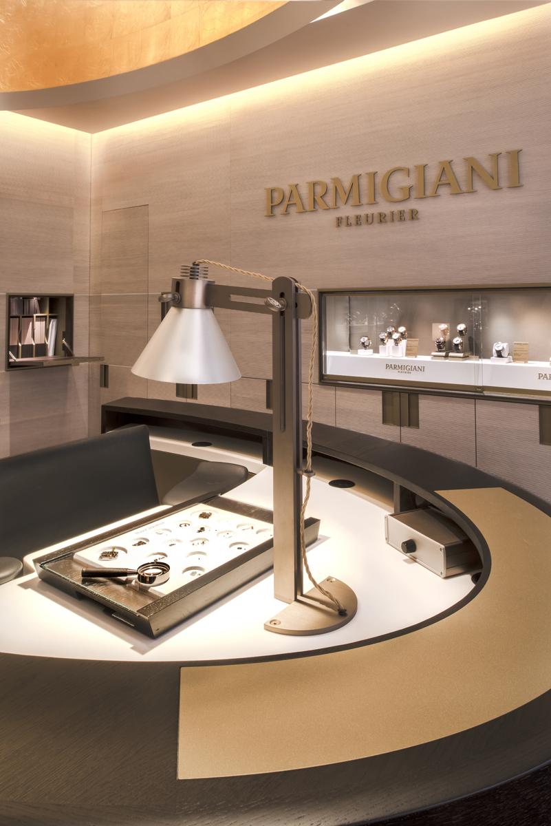 Interior Photography of Parmigiani Boutique in London by Nicholas Adamswww.nicholas-adams.co.uk