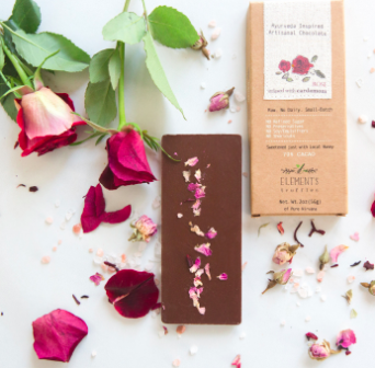 Delicious chocolates based on ayurvedic principles (aka cacao meets yoga).